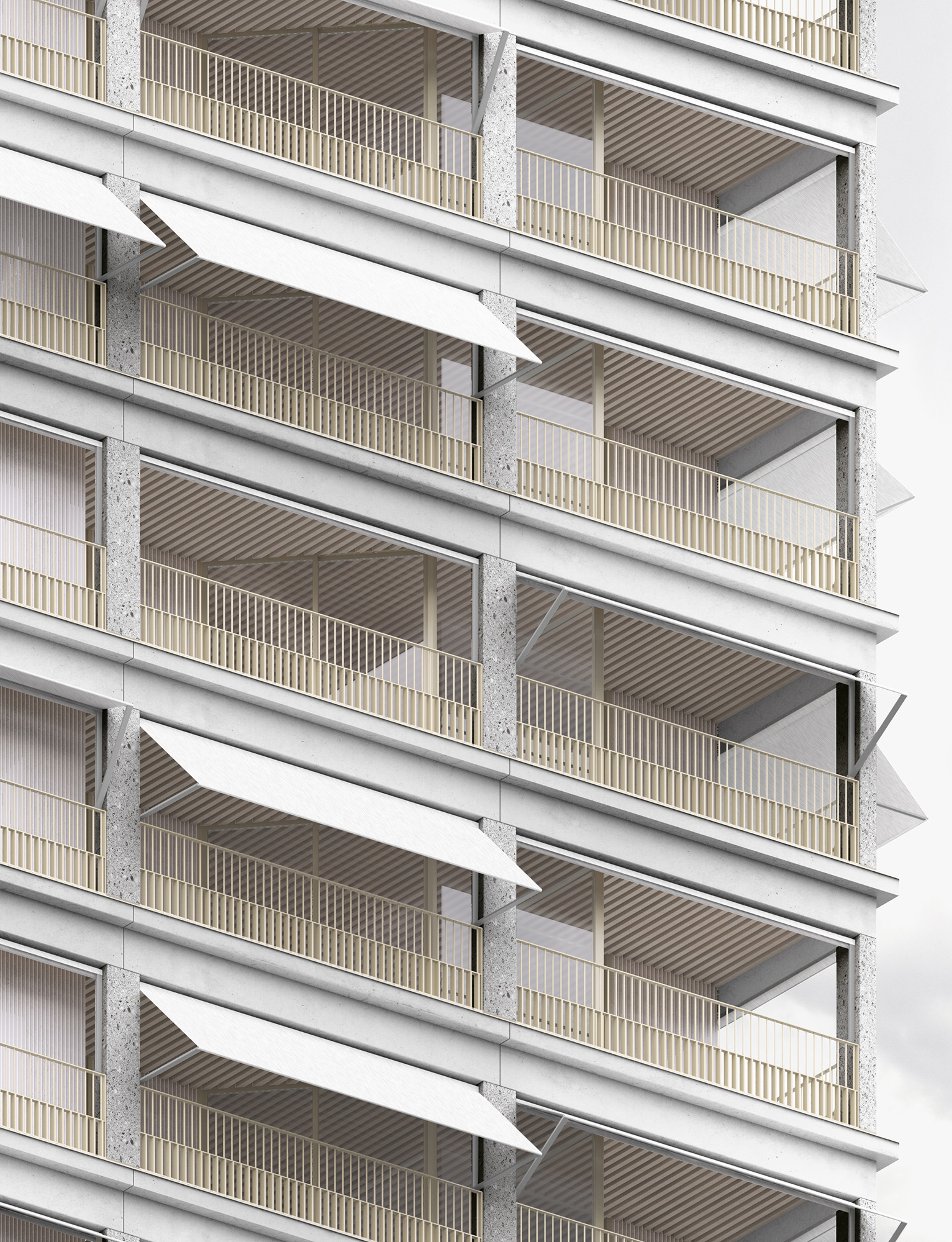 COLLECTIVE HOUSING UNITS - LYON CONFLUENCE - 5