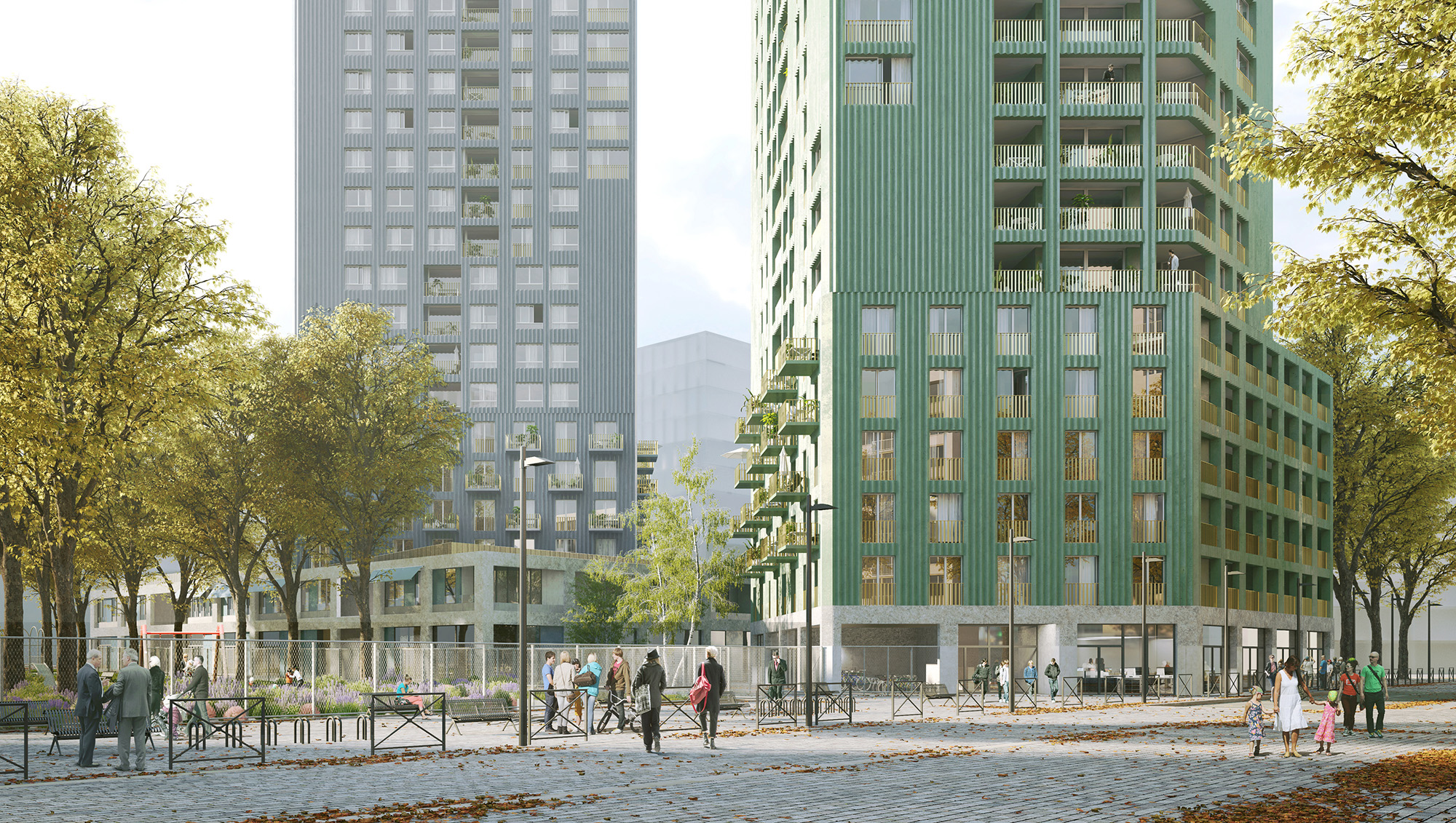 COLLECTIVE HOUSING UNITS - CHAPELLE INTERNATIONAL