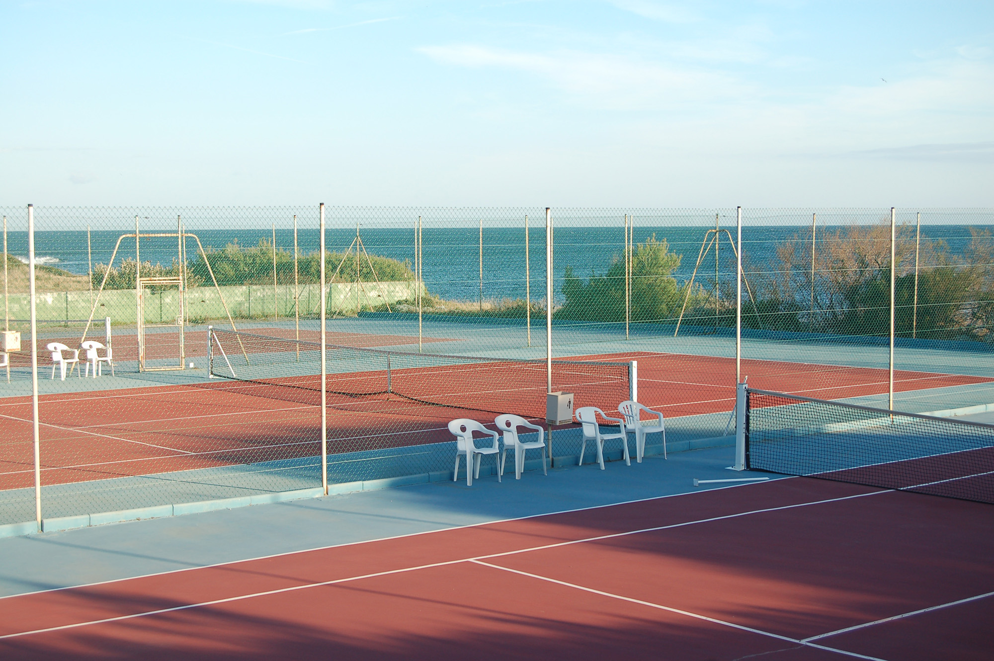 The most beautiful tennis court