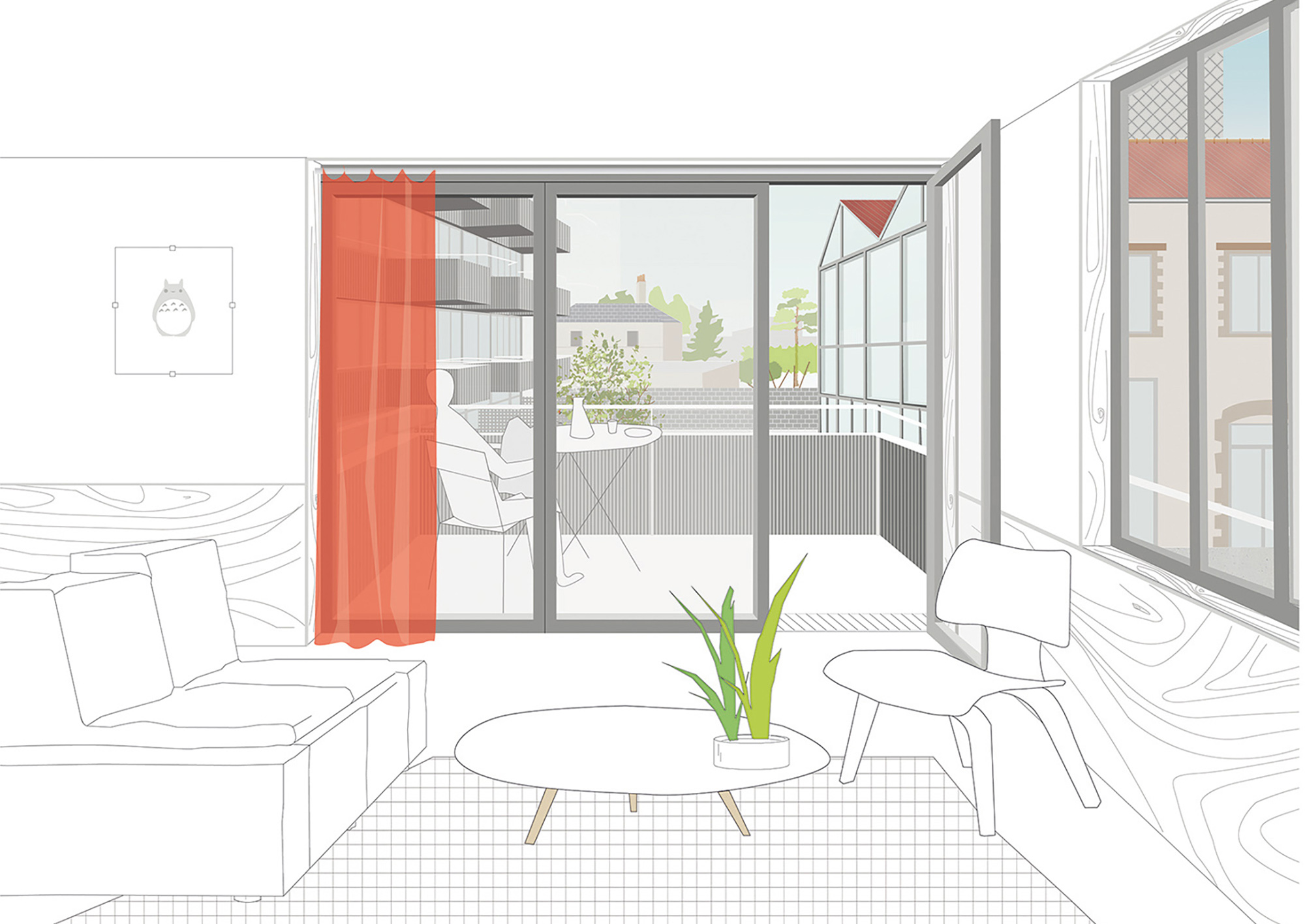 COLLECTIVE HOUSING UNITS - ATELIERS NORMANDS - 3