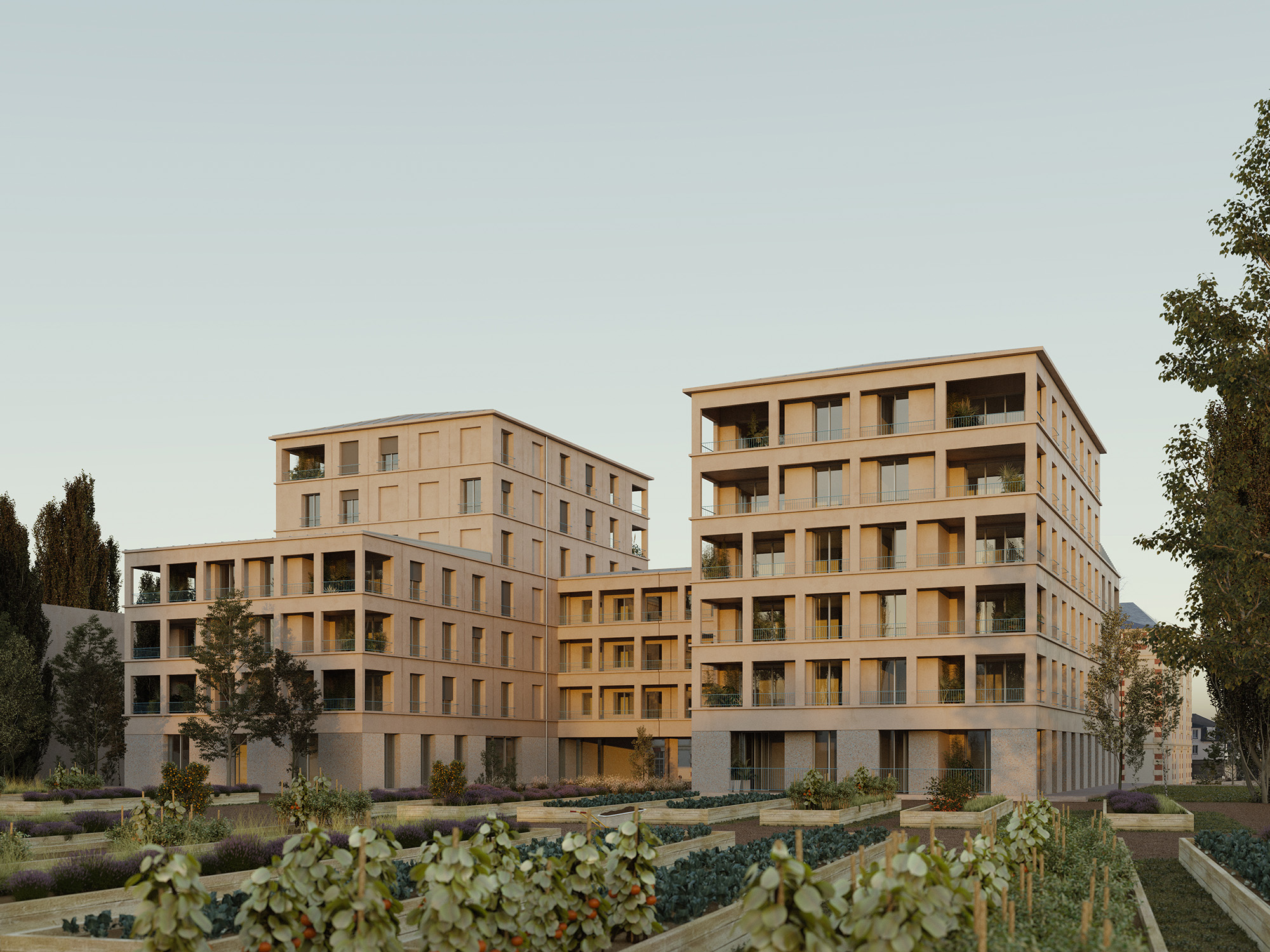 LOGEMENTS COLLECTIFS - MELLINET - 4